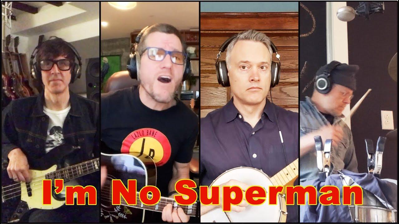Lazlo Bane members reunite for a new version of Superman