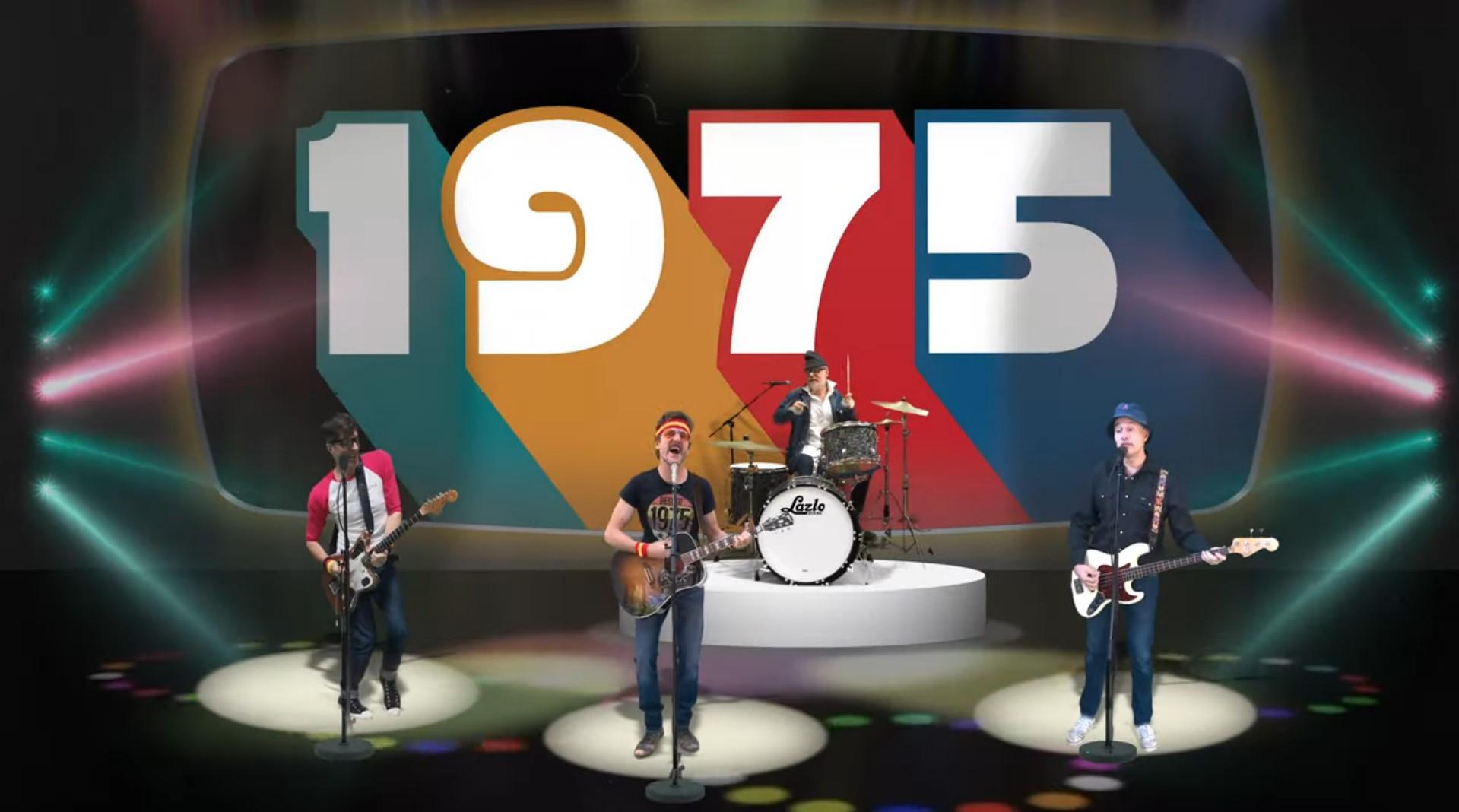 """Lazlo Bane reunite for the new """"1975"""""""